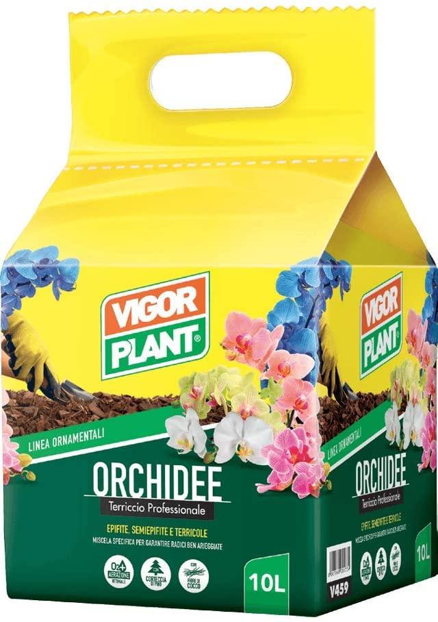 terriccio per orchidee, corteccia